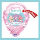 Carebear Balloon- Personalized - Birthday Party Balloon
