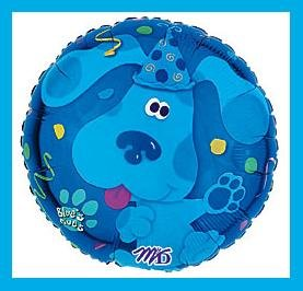 Blues Clues Confetti birthday party balloons supplies