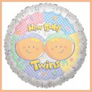 New baby twins baby shower balloons supplies decorations