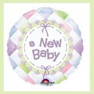 New Baby mylar balloons baby shower supplies