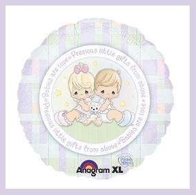 Precious Moments baby shower balloons supplies decoration