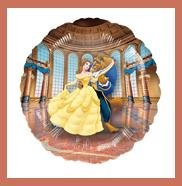 Beauty & the Beast Belle party balloons Disney Princess