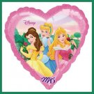 Disney Princess Party Balloons - supplies/decoration - heart