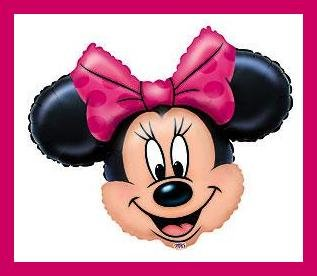 Minnie Mouse Party Balloons - Birthday party supplies