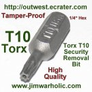 Torx T10 Security Bit Tamper Proof