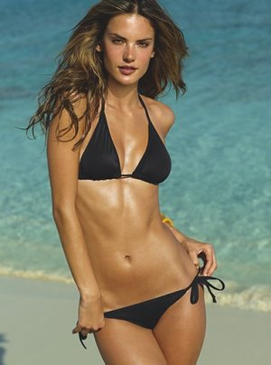 Victoria's Secret Beach Collection Black Swimwear Swimsuit Bikini XXS