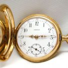 Vintage Gold Omega Ladies Pocket Watch 14K