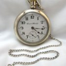 Vintage Hampden Watch Company Men's Pocket Watch 18s 17 Jewel