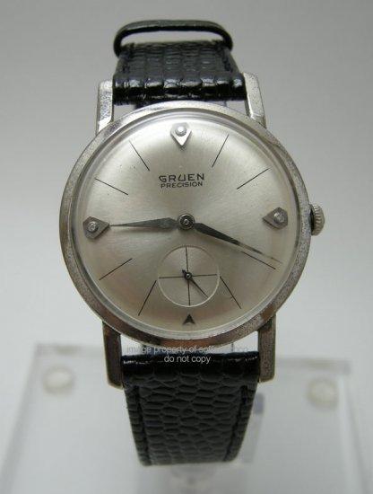 Vintage Gruen Precision Men's Diamod Watch Cal. 510