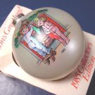 Vintage 1985 Campbell Kid glass sixth Christmas ornament, box has history of Campbells Soup Kids