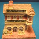 Clark Dubois Bank & Mint Liberty Falls miniature house AH12 Americana Collection Colorado building