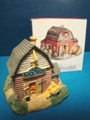 Stubbs Blacksmith Saddlery shop Liberty Falls miniature AH13 Americana Collection Colorado building