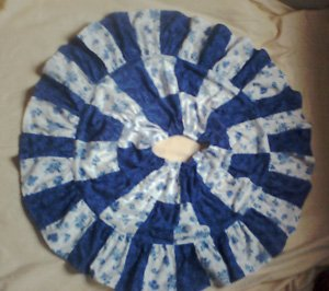 Blue Roses Twirl Skirt available in size 2-10