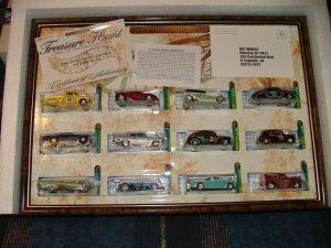 2002 Hotwheels Hot Wheels JC Penny Treasure Hunt Set