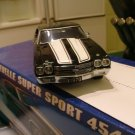 Franklin Mint 1:24 Black 1970 Chevy Chevelle SS MIB