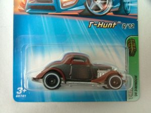 2005 Hot Wheels Hotwheels Treasure Hunt '34 3-Window