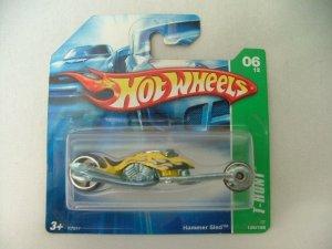 2007 Hot Wheels Hotwheels Treasure Hunt Hammer Sled SC