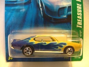 2007 Hot Wheels Hotwheels Treasure Hunt '69 Pontiac GTO