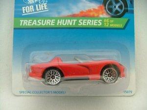 1996 Hot Wheels Hotwheels Treasure Hunt Viper