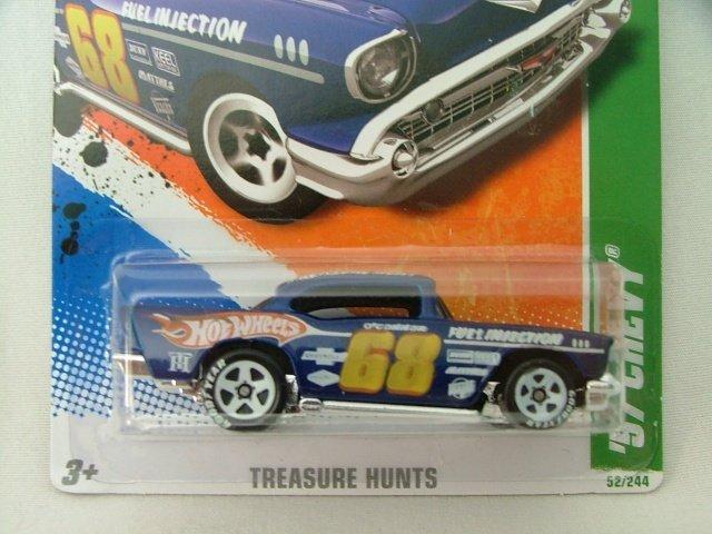 2011 Hot Wheels Hotwheels Treasure Hunt '57 Chevy