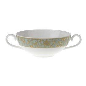 Villeroy & Boch Aureus 13 1/2 Cream Soup Cup Set of 6