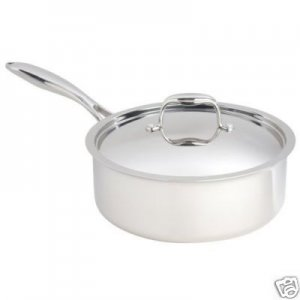 Paderno Fusion5 4 Quart Saute Pan with cover