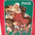 """""""SANTA WITH ELVES"""" COKE, Coca Cola Collectors TRAY Haddon Sundblom NEW!!"""
