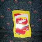 Barbie Bratz and Friends Size Yellow Potato Chip Bag with red design