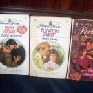 3 Romance Book Lot Savage Adoration Penny Jordan Vision Of Love Graham Wild Side Diana Hamilton