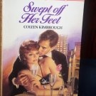 Swept off Her Feet by Coleen Kimbrough Harlequin Temptation Romance Book No 30 Paperback 1994