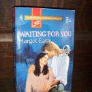 Waiting For You by Margot Early Harlequin Super Romance Book No. 694 June 1996