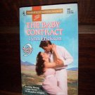 The Baby Contract by Lynn Erickson Harlequin Super Romance Book No 690