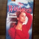 Windstorm by Connie Bennett Harlequin Super Romance Book No 562 Sept.1993