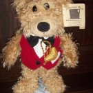 New Debonair R Bear Charming Teddy Great Christmas Gift with gift card tag