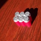 Barbie Blythe Tressy Bratz Size Red and Silver Pop Top Cans Food Accessory