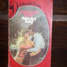Nobody's Baby by Susannah Hart Silhouette Desire Romance Book