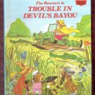 The Rescuers in Trouble in Devil's Bayou Walt Disney Productions Presents Childrens 1st Edition Hard