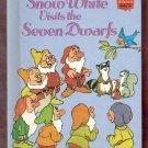 Snow White Visits The Seven Dwarfs Walt Disney Children's 1st Edition Collectable Book
