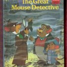 The Great Mouse Detective Walt Disney Pictures Presents Children's Collectable Hardcover Book 1986