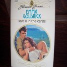 Love Is In The Cards Emma Goldrick Harlequin Presents Paranormal Romance Book #1360 May 1991