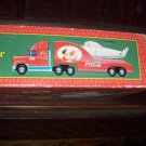 2000 Coca Cola Coke Limited Edition 1962 Replica HELICOPTER Santa Tractor Trailer CARRIER NRFB