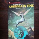 A Wrinkle In Time by Madeleine L'Engle Laurel Leaf Fantasy Dell Books March 1976 0-440-99805-0