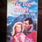 The Big Secret by Janice Kaiser Harlequin Super Romance Book #494 April 1992