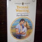 Far Horizons by Yvonne Whittal Harlequin Presents Romance Book #1594 October 1993