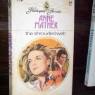 The Shrouded Web Anne Mather Harlequin Presents Paperback Romance Book Series #156 1976