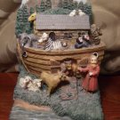 Noah's Ark Decorative Mantle Figurine or Single Book End