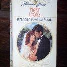 Stranger at Winterfloods by Mary Lyons Harlequin Presents Romance Novel Paperback Book Series #1144