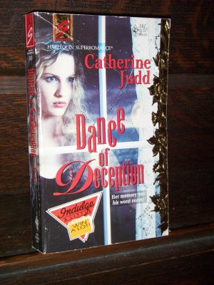 Dance of Deception by Catherine Judd Harlequin Super Mystery Romance Novel Paperback Book Series #58