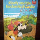 Walt Disney Productions Presents Goofy  the Enchanted Castle Children's Collectable Illustrated Book