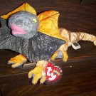 2000 Slayer Mint Dragon Ty Beanie Baby with Tag Protector MWMT 7-8-00 Retired 4-4-01 New